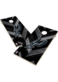San Antonio Spurs 2x4 Cornhole Set Tailgate Game