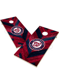 Washington Nationals 2x4 Cornhole Set Tailgate Game