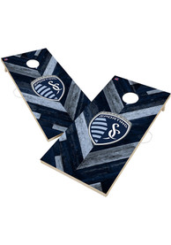 Sporting Kansas City 2x4 Cornhole Set Tailgate Game