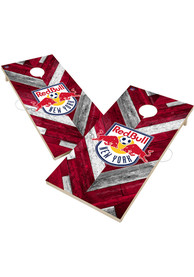 New York Red Bulls 2x4 Cornhole Set Tailgate Game