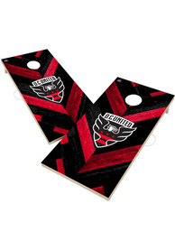 DC United 2x4 Cornhole Set Tailgate Game