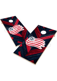 New England Revolution 2x4 Cornhole Set Tailgate Game