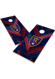 Real Salt Lake 2x4 Cornhole Set Tailgate Game