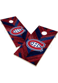 Montreal Canadiens 2x4 Cornhole Set Tailgate Game