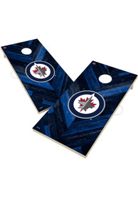 Winnipeg Jets 2x4 Cornhole Set Tailgate Game