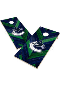Vancouver Canucks 2x4 Cornhole Set Tailgate Game
