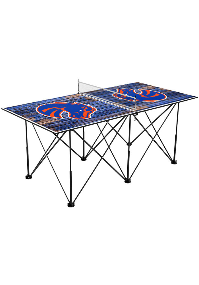 Boise State Broncos Pop Up Table Tennis - Image 1