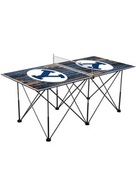 BYU Cougars Pop Up Table Tennis
