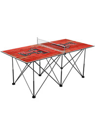 Texas Tech Red Raiders Pop Up Table Tennis