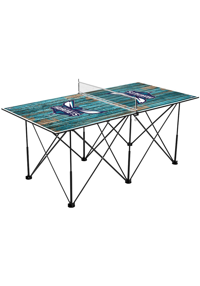 Charlotte Hornets Pop Up Table Tennis - Image 1