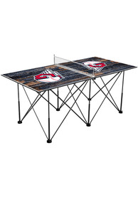 Cleveland Indians Pop Up Table Tennis