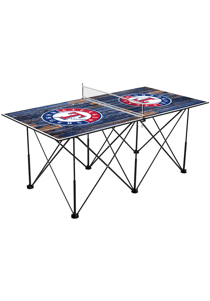 Texas Rangers Pop Up Table Tennis - Image 1