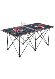 Columbus Blue Jackets Pop Up Table Tennis