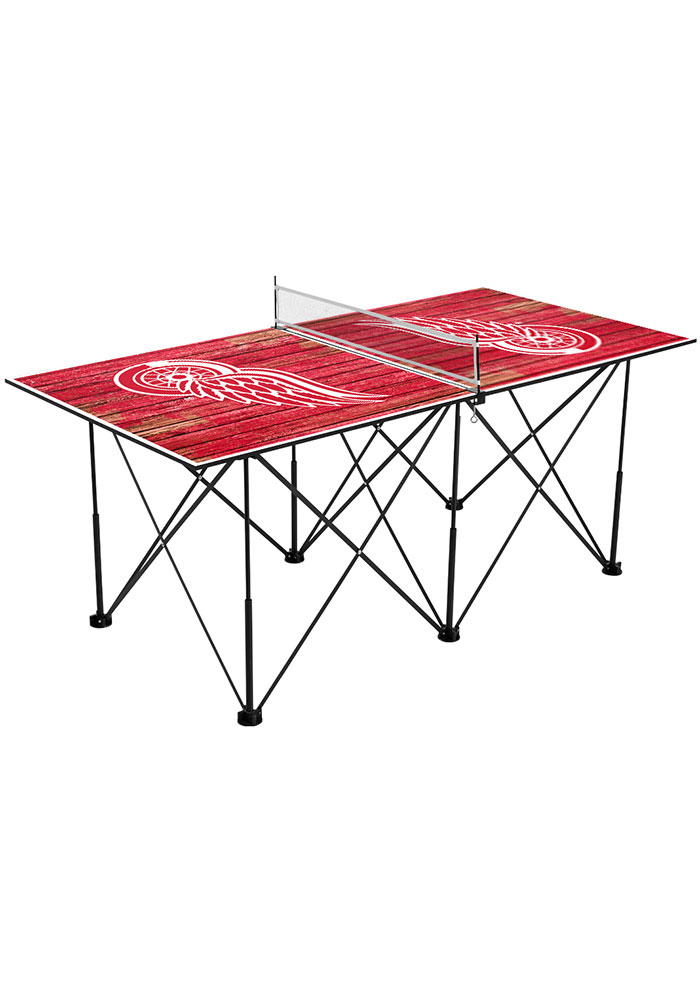 Detroit Red Wings Pop Up Table Tennis - Image 1