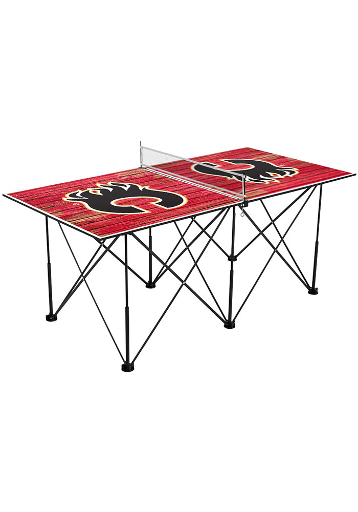 Calgary Flames Pop Up Table Tennis - Image 1