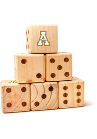 Appalachian State Mountaineers Yard Dice Tailgate Game