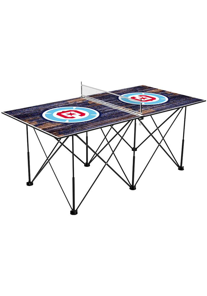 Chicago Fire Pop Up Table Tennis - Image 1