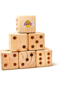 Los Angeles Lakers Yard Dice Tailgate Game