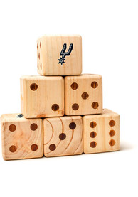 San Antonio Spurs Yard Dice Tailgate Game