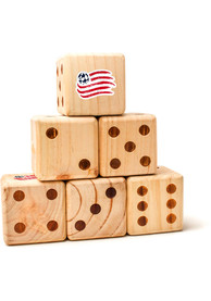 New England Revolution Yard Dice Tailgate Game