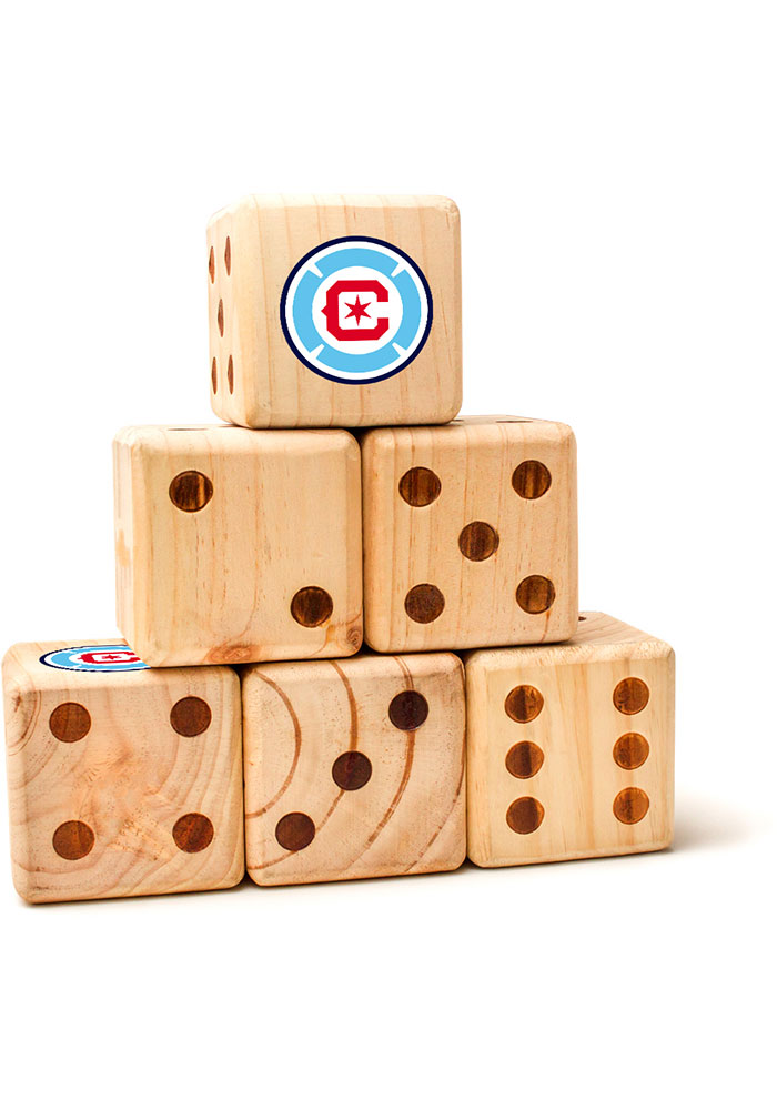 Chicago Fire Yard Dice Tailgate Game - Image 1