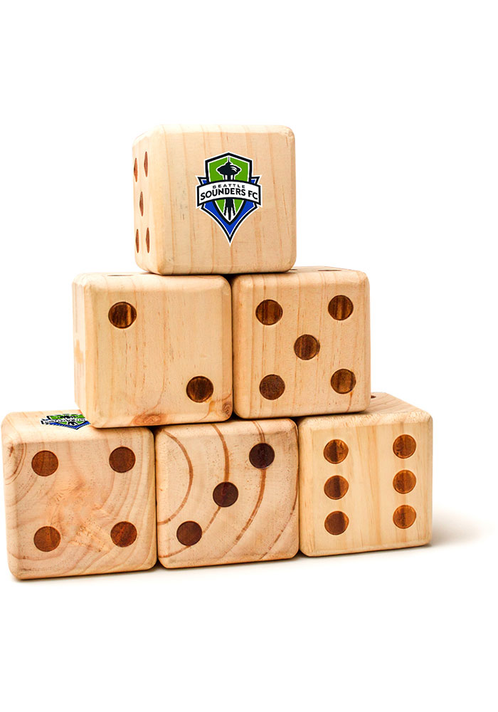Seattle Sounders FC Yard Dice Tailgate Game - Image 1