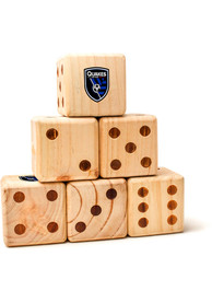 San Jose Earthquakes Yard Dice Tailgate Game