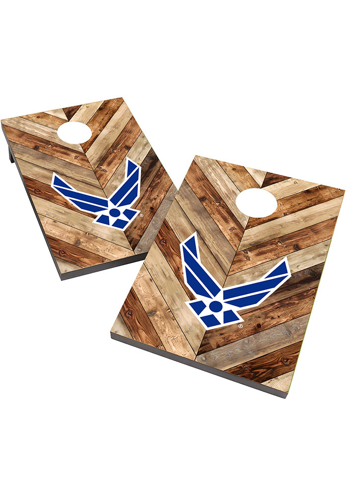 Air Force 2X3 Cornhole Bag Toss Tailgate Game - Image 1
