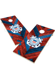 Coast Guard 2x4 Cornhole Set Tailgate Game
