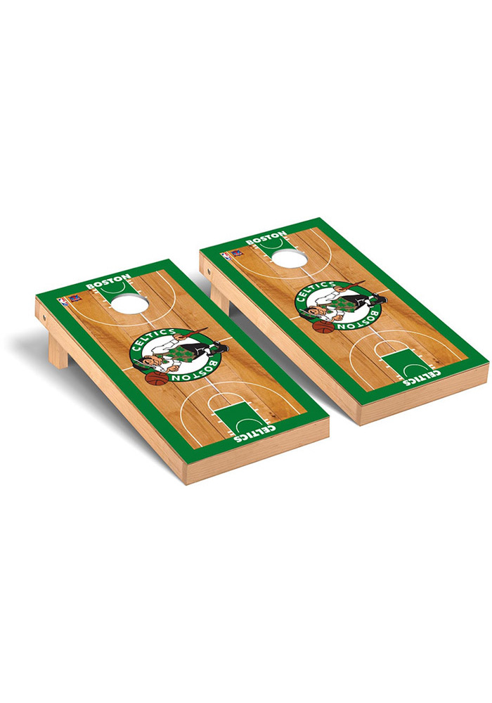 Boston Celtics Cornhole Game Set Tailgate Game - Image 1