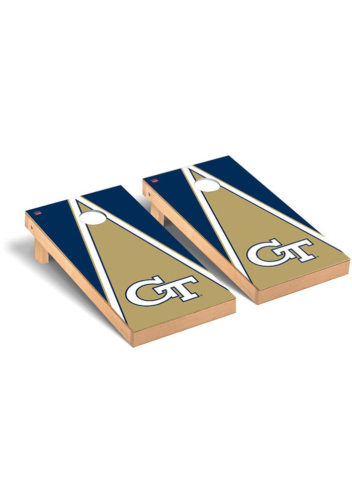 GA Tech Yellow Jackets Cornhole Game Set Tailgate Game - Image 1