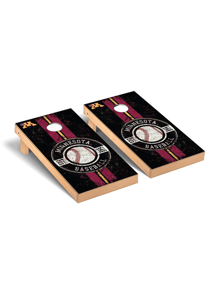 Minnesota Golden Gophers Cornhole Game Set Tailgate Game - Image 1