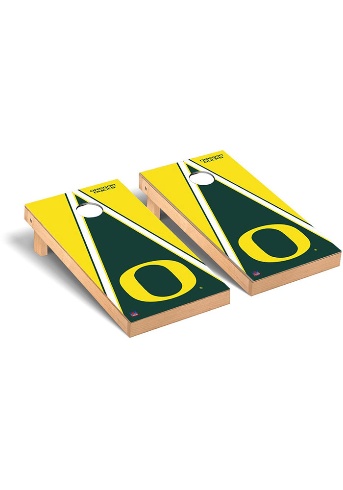 Oregon Ducks Cornhole Game Set Tailgate Game - Image 1