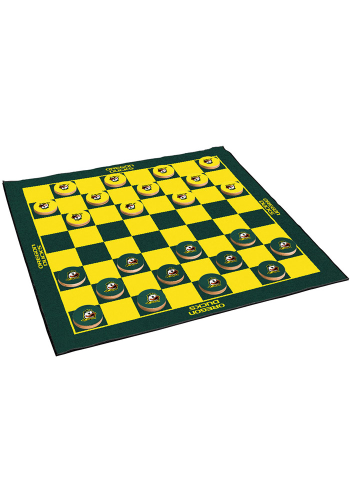 Oregon Ducks Giant Checkers Tailgate Game - Image 1