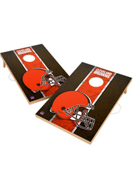 Cleveland Browns 2x3 Solid Wood Tailgate Game