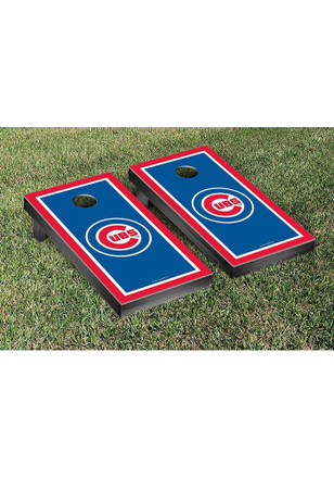 Chicago Cubs Border Version Cornhole Tailgate Game