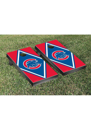 Chicago Cubs Diamond Version Cornhole Tailgate Game