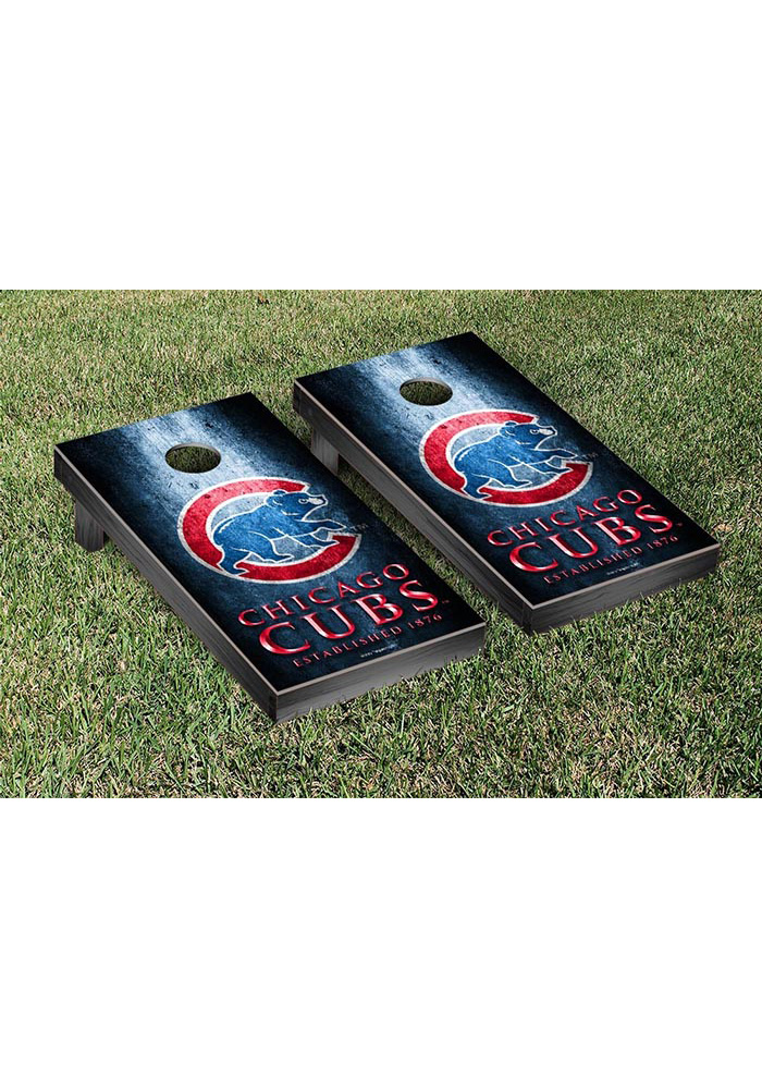 Chicago Cubs Museum Version Cornhole Tailgate Game - Image 1