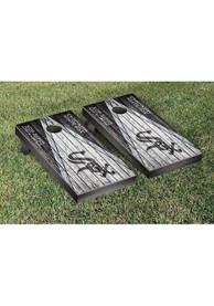 Chicago White Sox Triangle Weathered Version Cornhole Tailgate Game