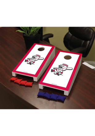 Cincinnati Reds Game Border Cornhole Game Desk Accessory