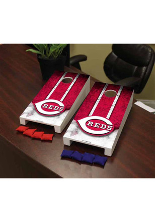 Cincinnati Reds Vintage Version Cornhole Game Desk Accessory