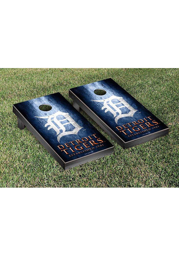 Detroit Tigers Museum Version Cornhole Tailgate Game - Image 1