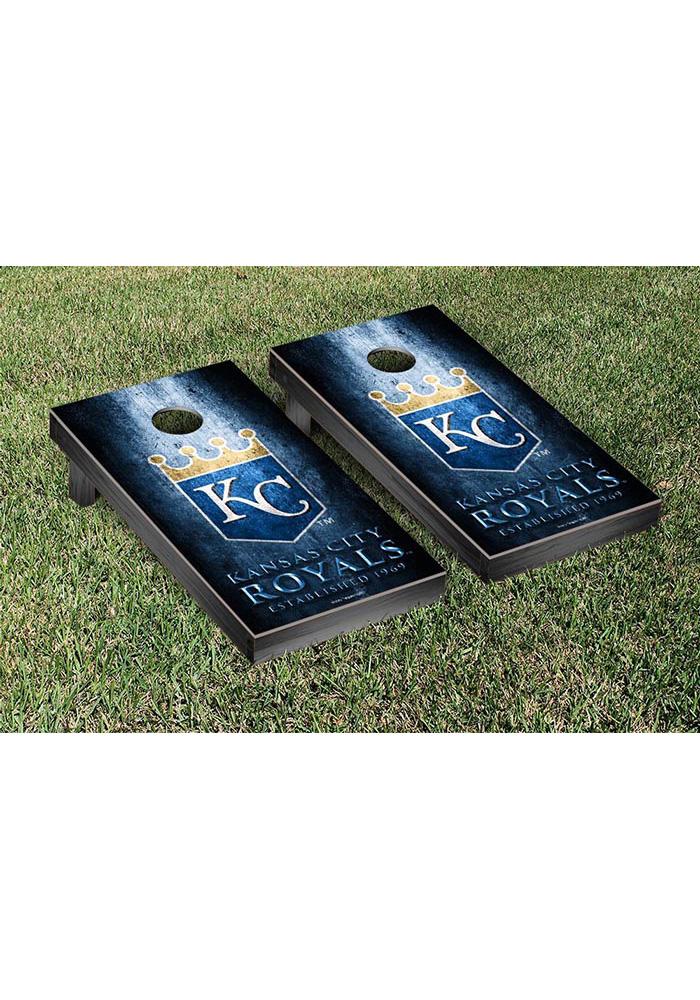 Kansas City Royals Museum Version Cornhole Tailgate Game - Image 1
