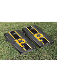 Pittsburgh Pirates Onyx Stained Stripe Version Cornhole Tailgate Game