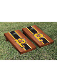 Pittsburgh Pirates Rosewood Stained Stripe Version Cornhole Tailgate Game