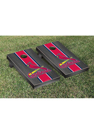 St Louis Cardinals Onyx Stained Stripe Version Cornhole Tailgate Game