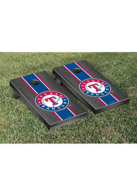 Texas Rangers Onyx Stained Stripe Version Cornhole Tailgate Game