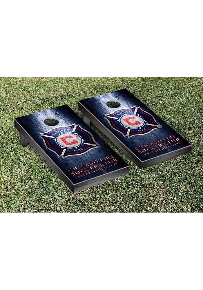 Chicago Fire Museum Version Cornhole Tailgate Game - Image 1