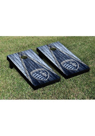 Sporting Kansas City Weathered Triangle Version Cornhole Tailgate Game