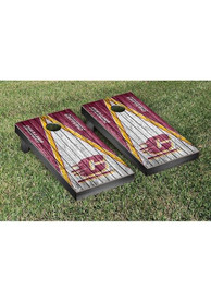 Central Michigan Chippewas Triangle Weathered Version Cornhole Tailgate Game